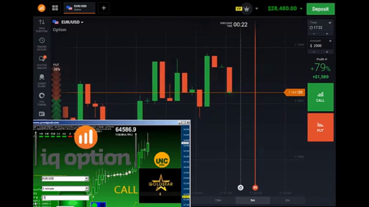 Opzioni binarie robot - iqoption autotrading software