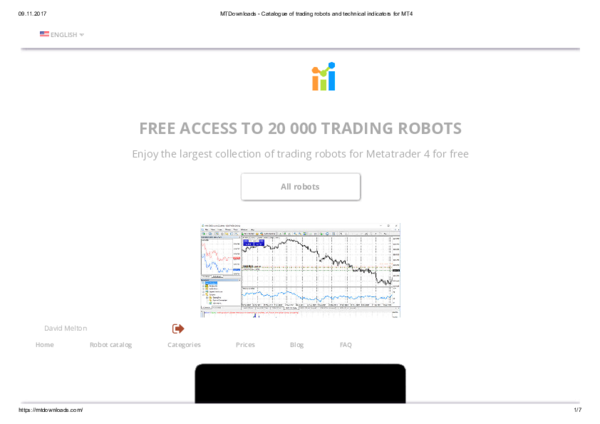 trading robot puria
